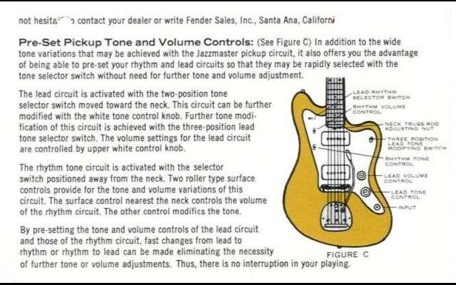 Fender Guitar Manuals